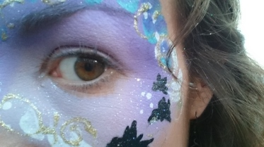facepainted-eye