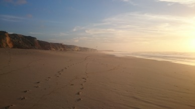 portuguese-beach-at-sunset